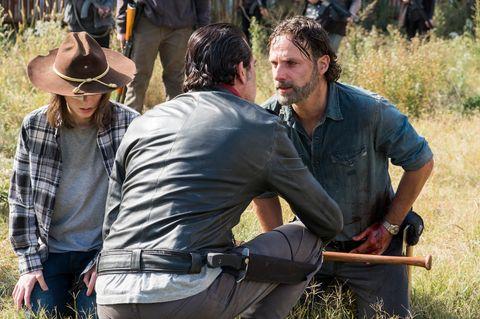 The Walking Dead's Jeffrey Dean Morgan argues Rick Grimes is