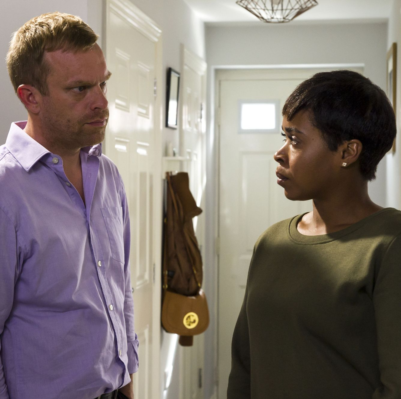 """Casualty star Azuka Oforka reveals she's """"forever grateful"""" to the show as Louise Tyler bows out"""