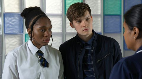 Lily Baker, Austin Lucas and Ruhma Hanif in Doctors