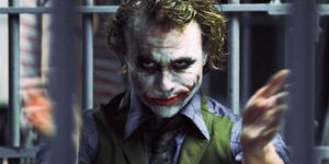 Heath Ledger as The Joker, Batman The Dark Knight,