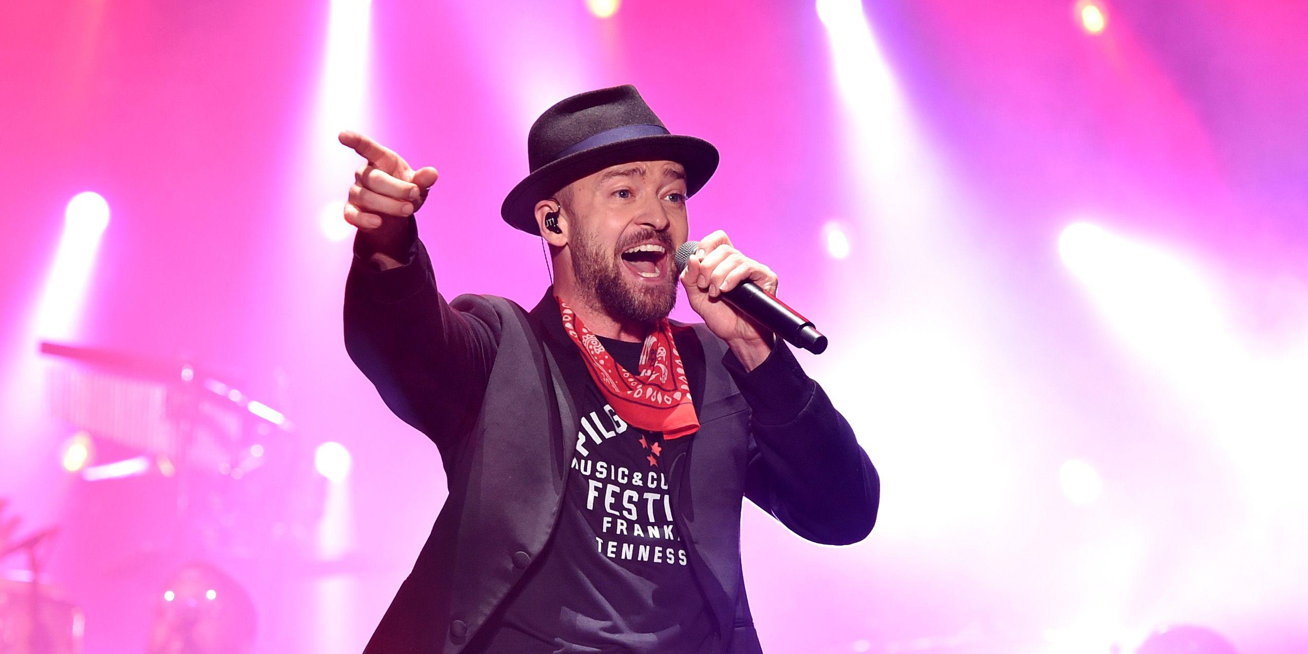 Justin Timberlake performs at the 2017 Pilgrimage Music & Cultural Festival