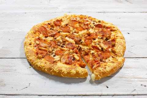 Pizza Hut Launches A Five Cheese Stuffed Crust With