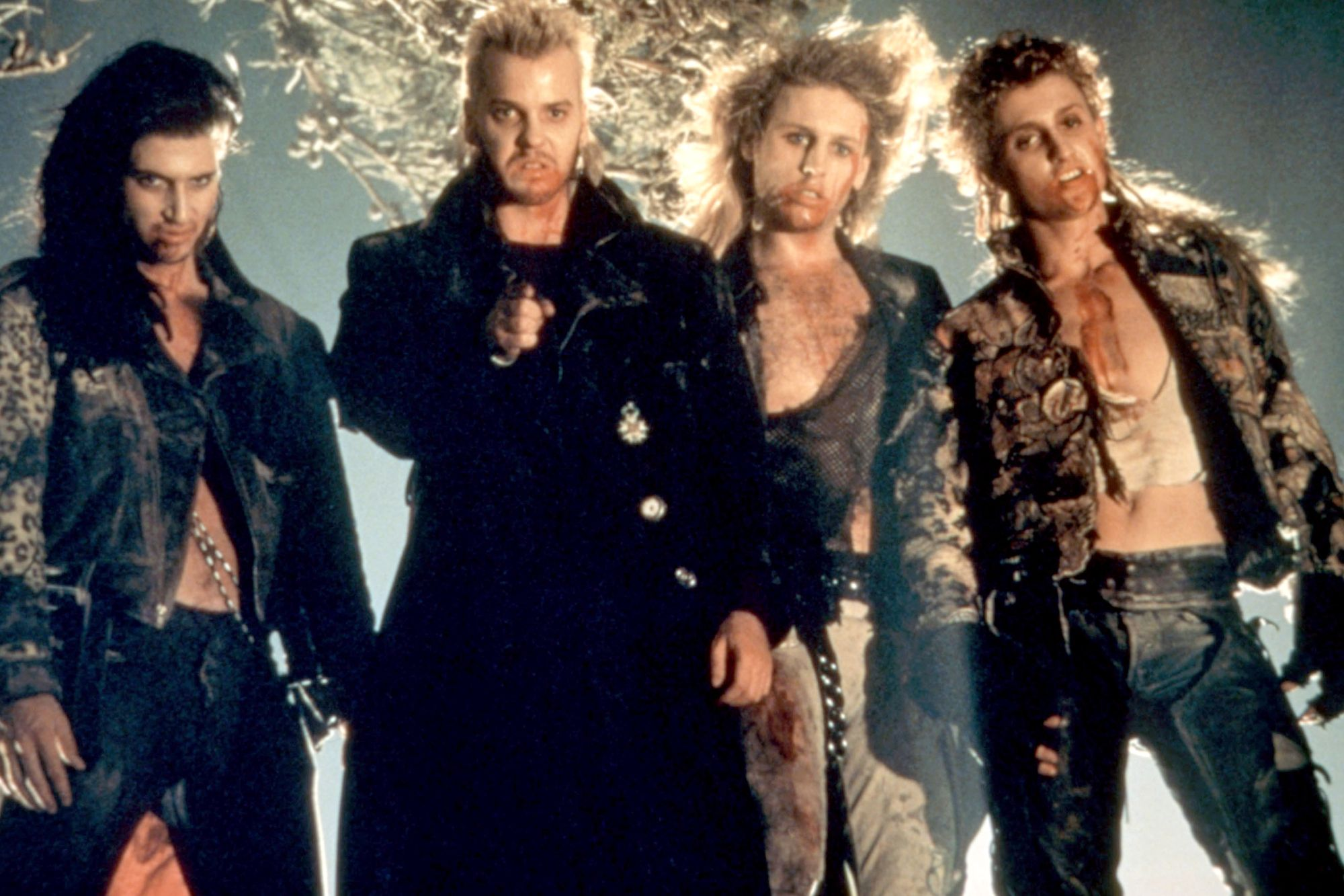 The Lost Boys' alternate ending which was nearly a post-credits scene