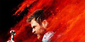 Thor: Ragnarok poster Chris Hemsworth