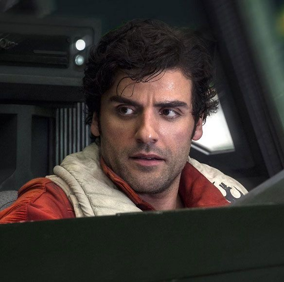 Oscar Isaac As Poe Dameron In Star Wars The Last Jedi