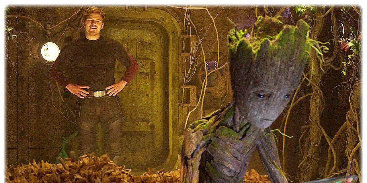 Teenage Groot in Guardians of the Galaxy 2