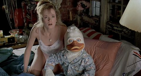 Howard the Duck with Leah Thompson