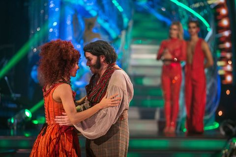 Simon Rimmer and Karen Clifton in Strictly Come Dancing dance-off