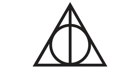 Deathly Hallows sign symbol