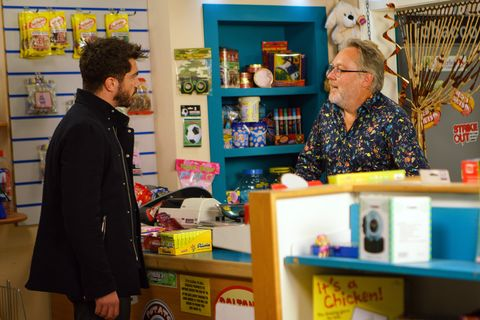 Adam Barlow clashes with Colin Callen in Coronation Street