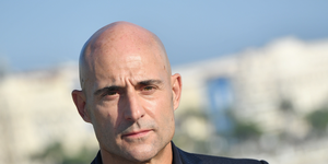 Mark Strong, cast from the thriller tv series 'Deep state', poses for a photograph
