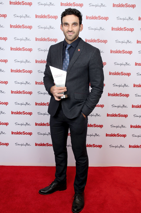 Davood Ghadami attends the Inside Soap Awards