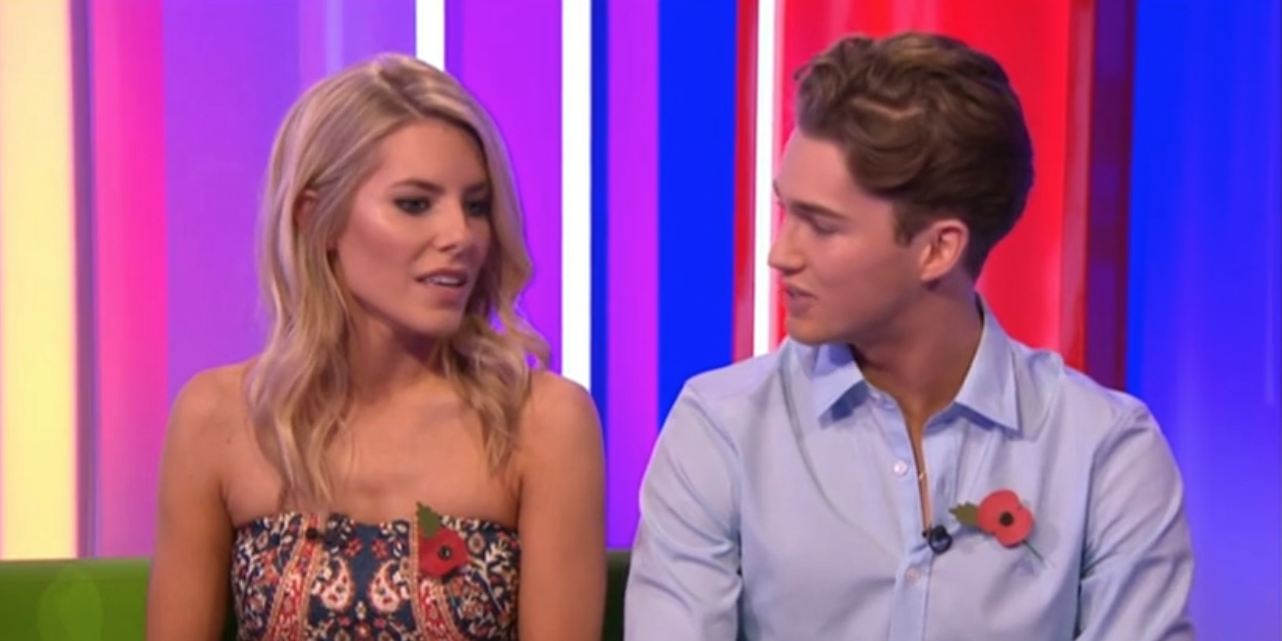 Mollie King and AJ Pritchard on The One Show 11/7