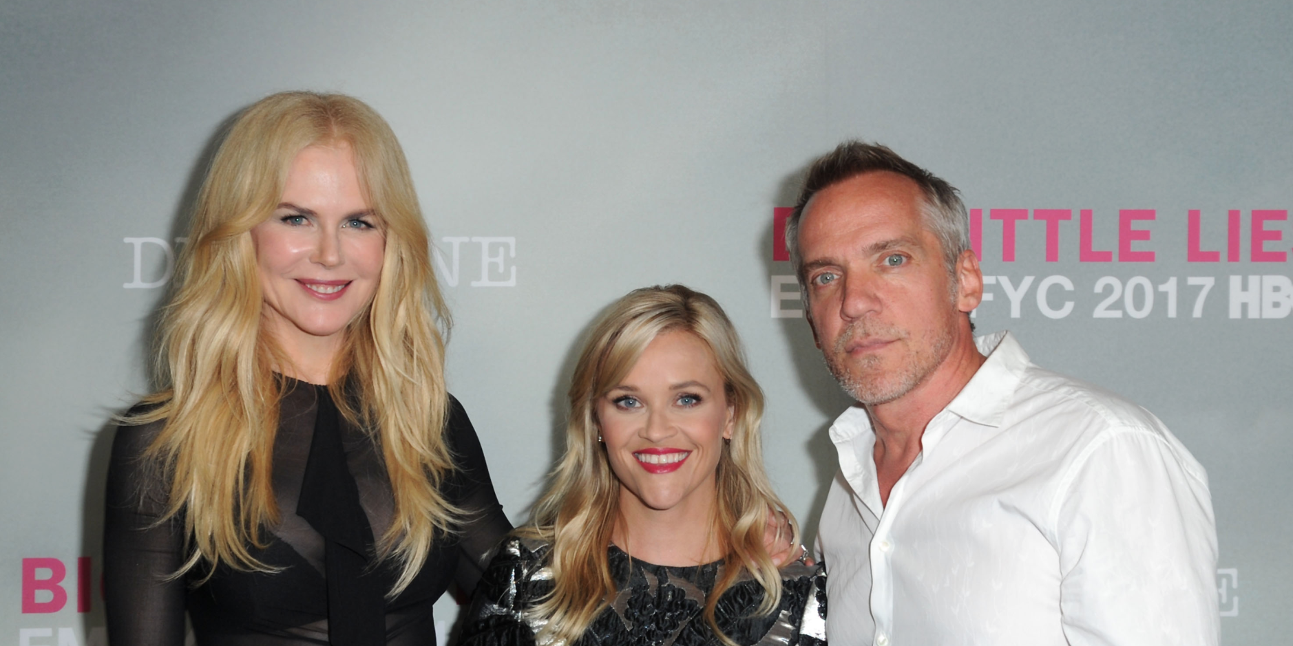 Nicole Kidman, Reese Witherspoon and Jean-Marc Vallee arrive at HBO 'Big Little Lies'