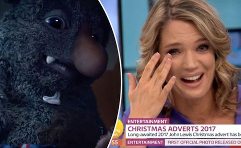 John Lewis Christmas Advert 2017.Good Morning Britain S Charlotte Hawkins Cries After