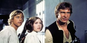 Luke Skywalker Princess Leia Han Solo Star Wars A New Hope