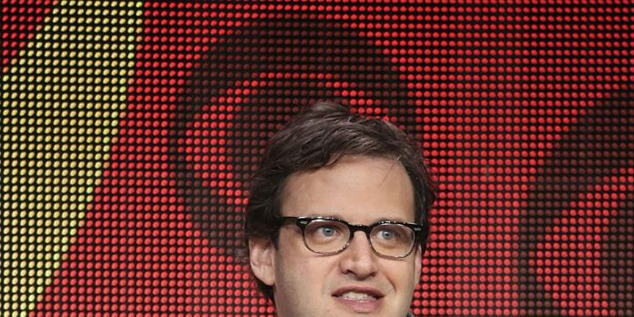 Supergirl Panel speaking to the TCA Summer Press Tour 2015 on Monday August 10, 2015 at the Beverly Hilton hotel in Los Angeles, CA. Pictured: Andrew Kreisberg, Executive Producer.