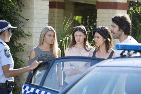 Kat Chapman arrests Ben Astoni in Home and Away