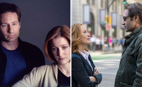 The X Files in 2002 and 2015