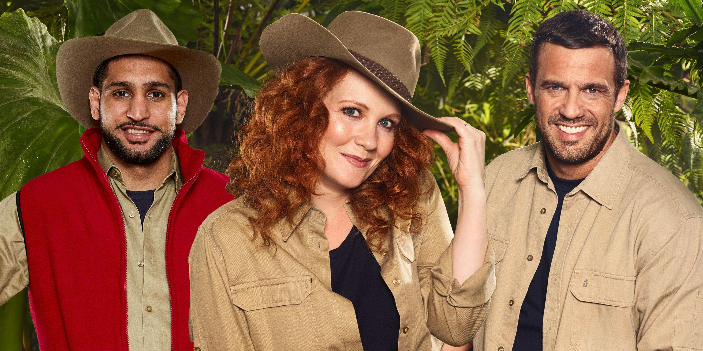 PHOTOSHOP, I'm A Celeb jungle outfits, Amir Khan, Jennie McAlpine, Jamie Lomas