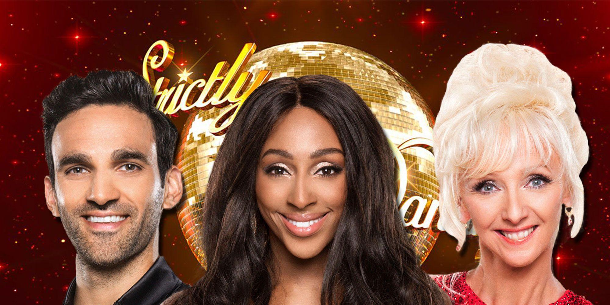 EMBARGOED until 6.45pm 11/14, Alexandra Burke, Debbie McGee, Davood Ghadami, Strictly Come Dancing