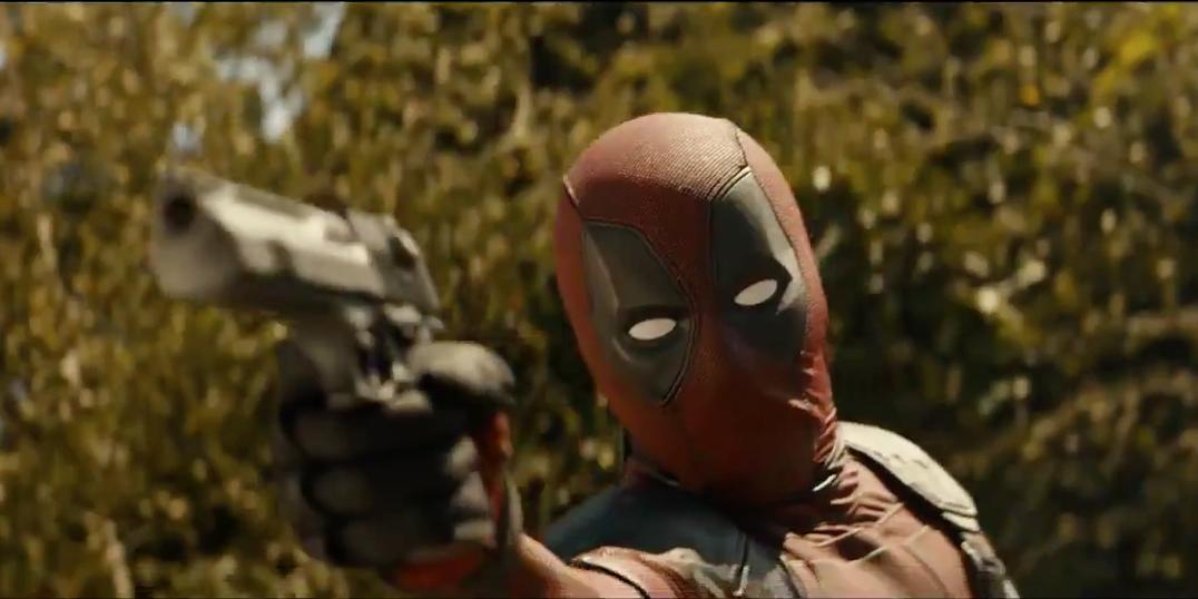 Deadpool 2 footage screenshot