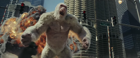 Dwayne Johnson S Rampage Fails To Break The Video Game Movie Curse