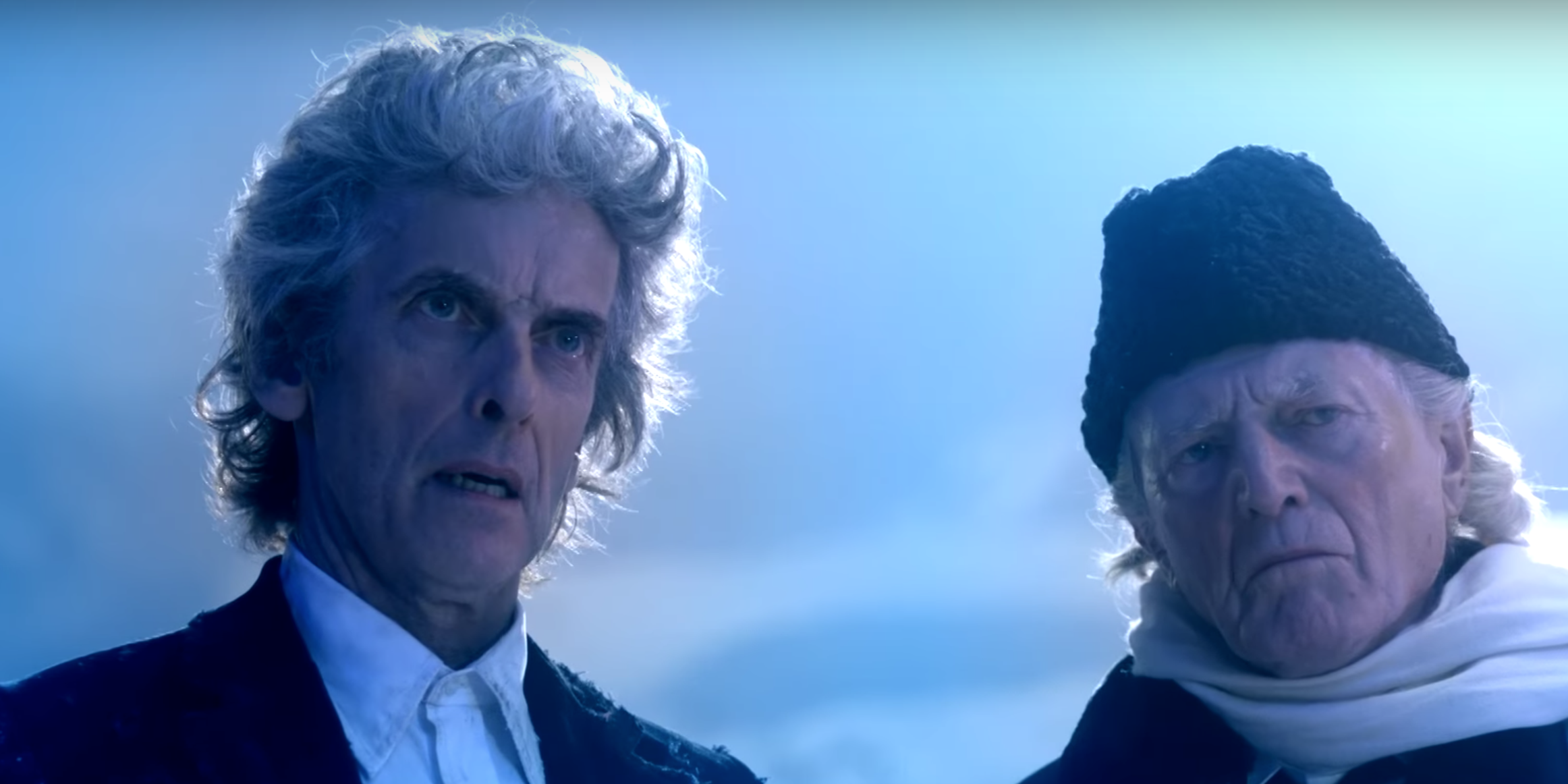 Doctor Who 2017 Christmas special: Peter Capaldi and David Bradley