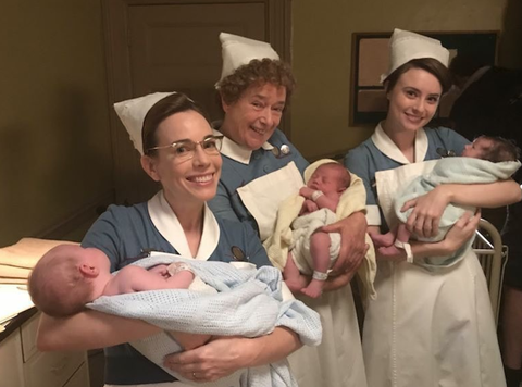 Call The Midwife Christmas Special.Call The Midwife Premieres Christmas Special Clip For