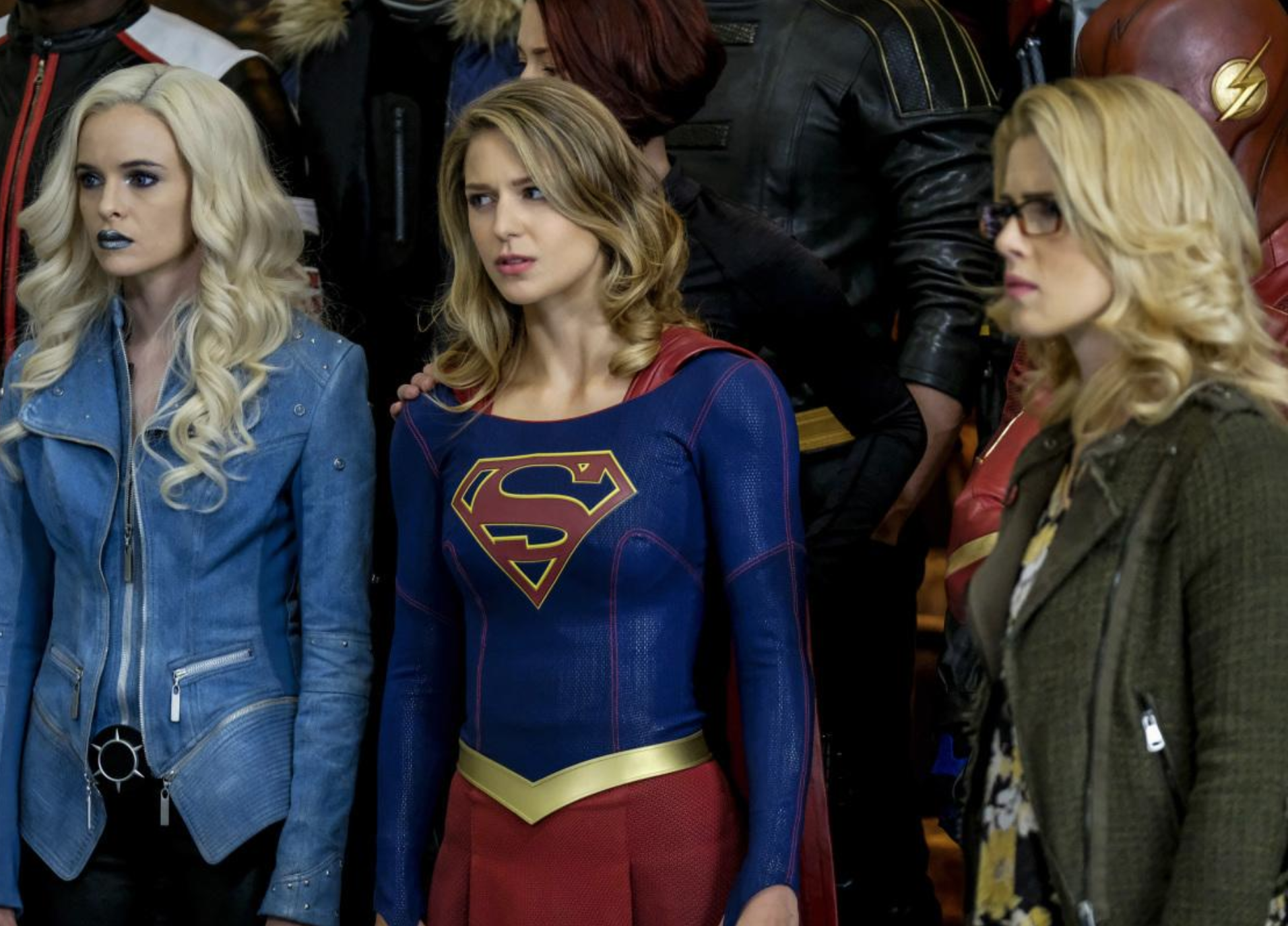 Supergirl, Arrow and Flash unveil title of this year's crossover