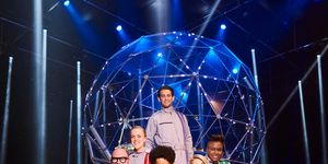 Ollie Locke, Ellie Simmons, Nicola Adams, Tom Davis, Richard Ayoade, Mollie King, The Crystal Maze Christmas Special