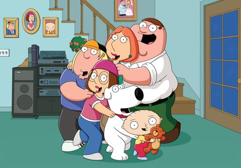 a family guy movie is in the works and it ll combine animation and