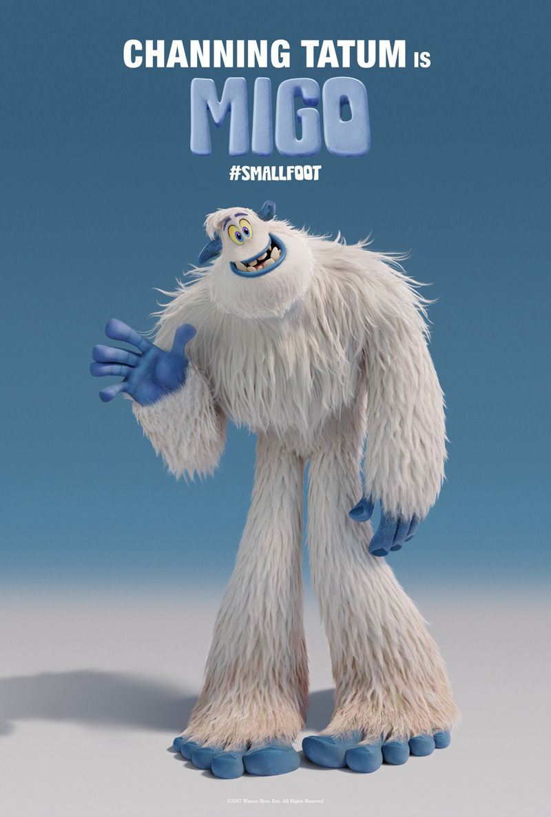 93192ef9e093 Channing Tatum appears in first Smallfoot trailer