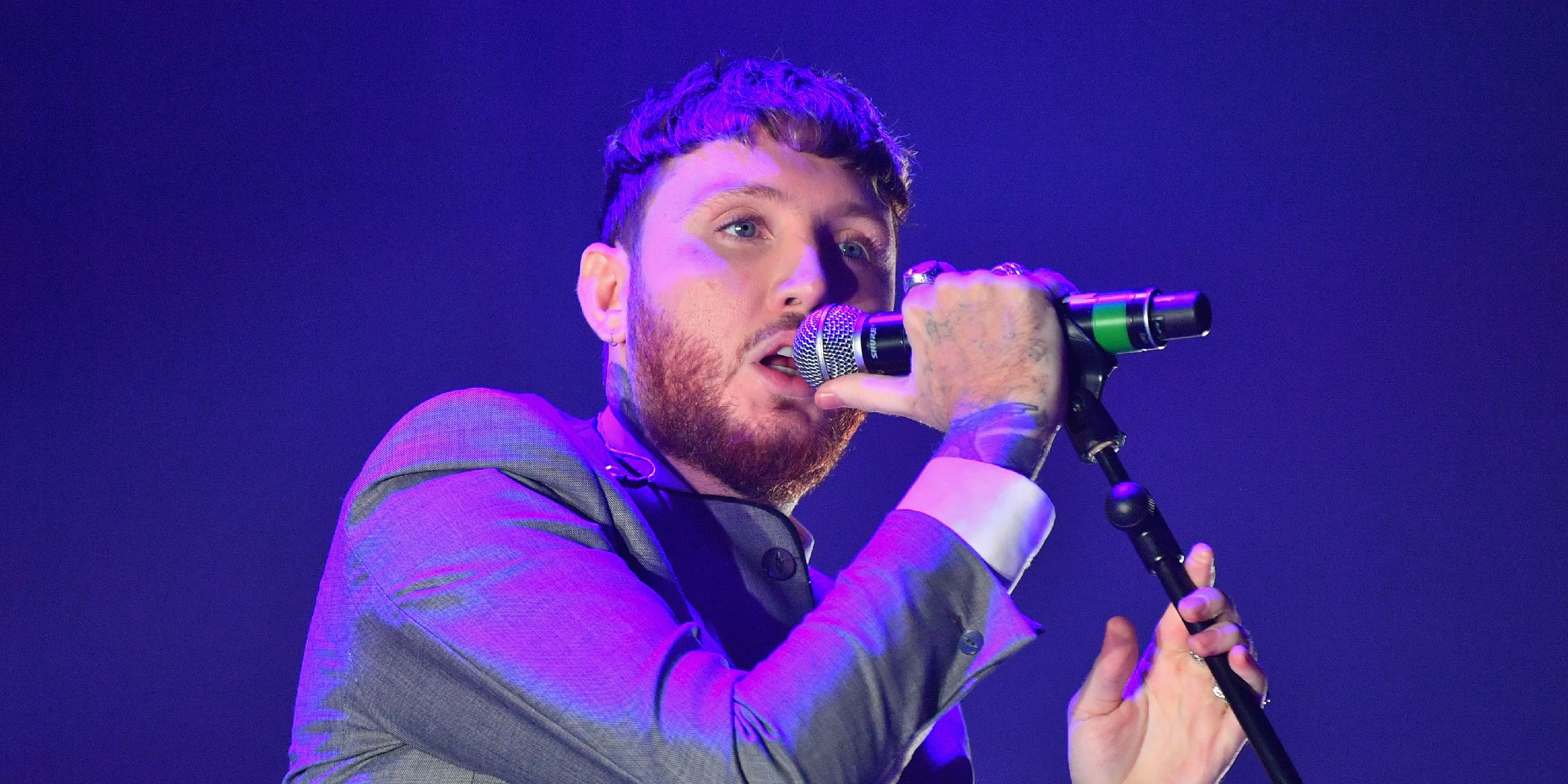 James Arthur performing in 2017