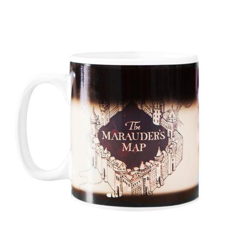 Harry Potter heat-changing Marauders map mug