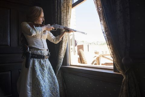 Netflixs Female Led Series Godless Has Most Of Its Dialogue