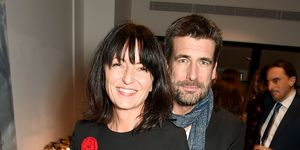 Davina McCall and Matthew Robertson attend the anniversary party for Kelly Hoppen