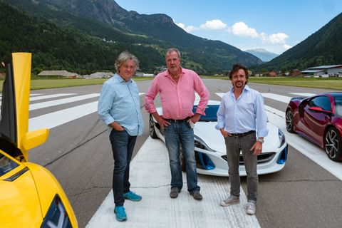 Grand Tour Season 2 Episode 1 Switzerland James May Jeremy Clarkson Richard