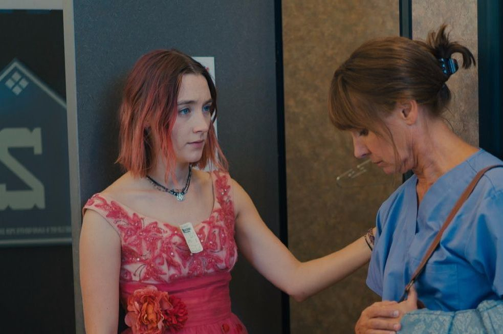 Lady Bird movie, Saoirse Ronan