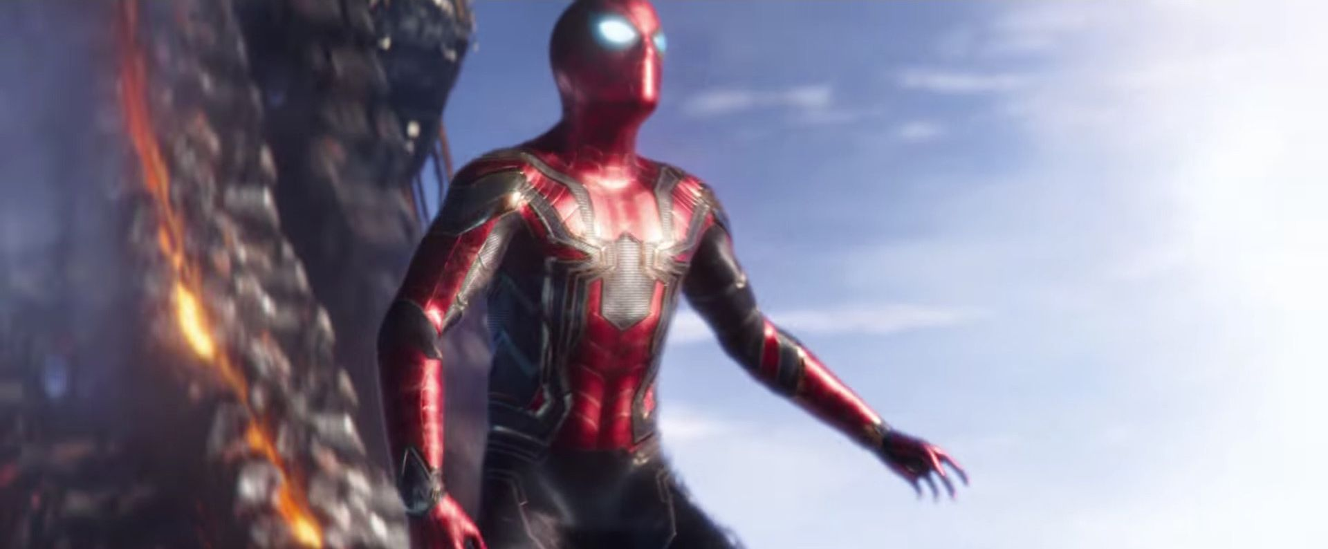 Avengers: Infinity War - Spider-Man's new Iron Spider