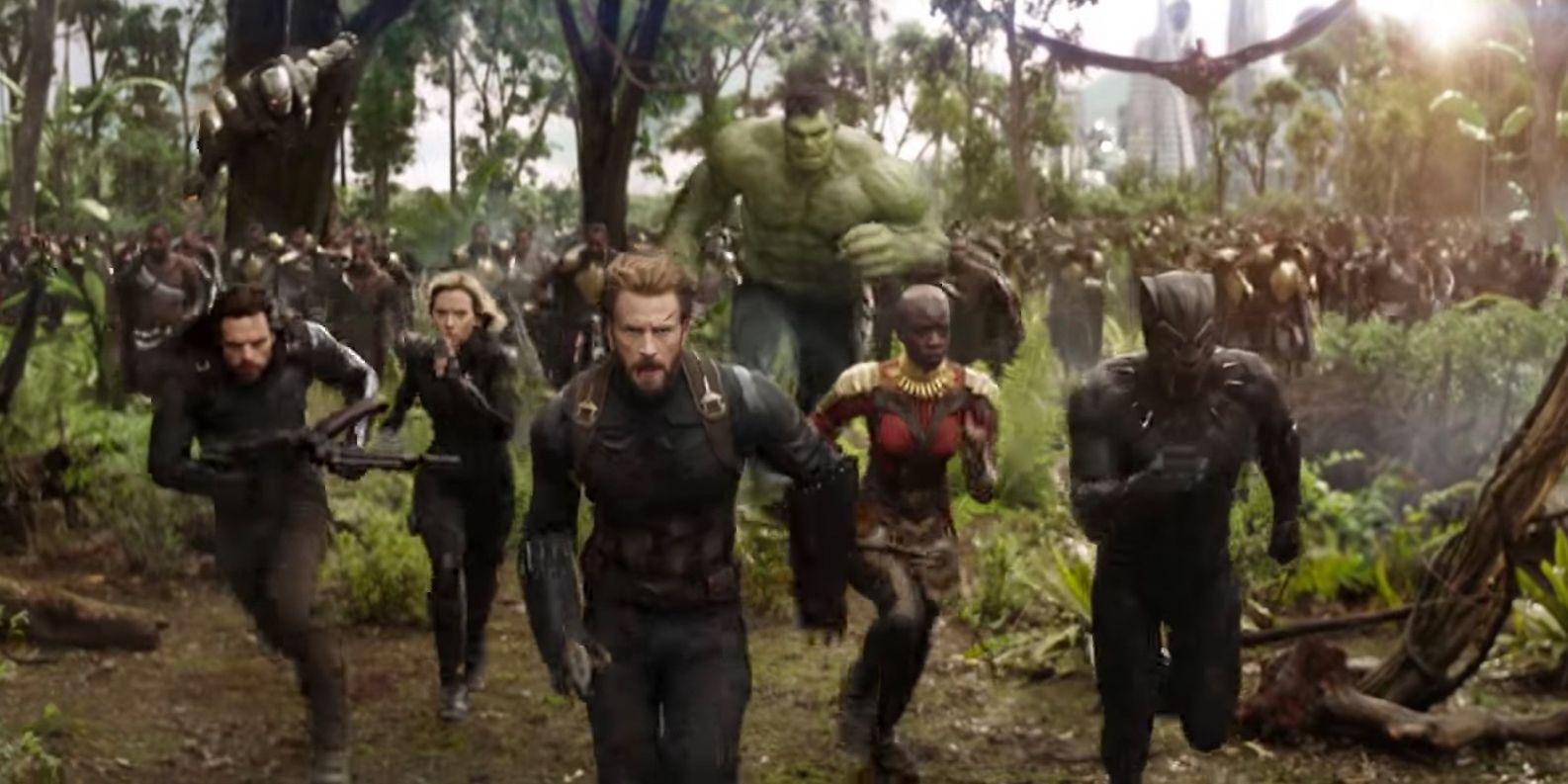 Avengers Infinity War New Costumes