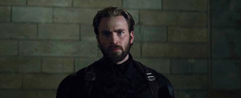 Chris Evans Captain America Avengers Infinity War Trailer