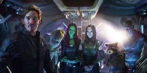 "<p>Peter Quill/Star-Lord (Chris Pratt), Gamora (Zoe Saldana), Nebula (Karen Gillan), Groot (Vin Diesel), Drax (Dave Bautista), Rocket (Bradley Cooper) and Mantis (Pom Klementieff) will be meeting the Avengers for the first time in <em data-redactor-tag=\em"">Infinity War</em>. With <em data-redactor-tag=\""em\""><a href=\""http://www.digitalspy.com/movies/guardians-of-the-galaxy/feature/a829022/guardians-of-the-galaxy-vol-3-trailer-cast-release-date/\"">Guardians of the Galaxy vol 3</a><span class=\""redactor-invisible-space\""></span></em> scheduled for Marvel Phase Four (and a load of other spin-offs teased by director James Gunn)"