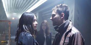 Jeff Ward (Deke) and Chloe Bennet (Daisy) in Agents of SHIELD season 5 premiere