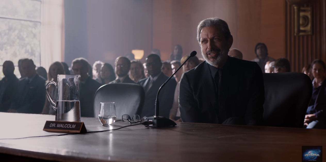 Jeff Goldblum hints at returning for Jurassic World 3