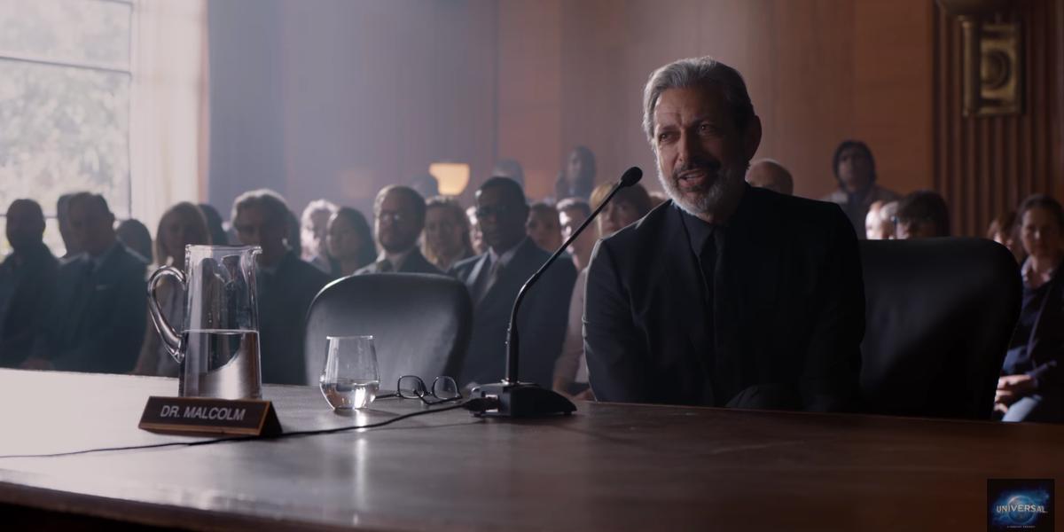 Jeff Goldblum hints at returning for Jurassic World 3
