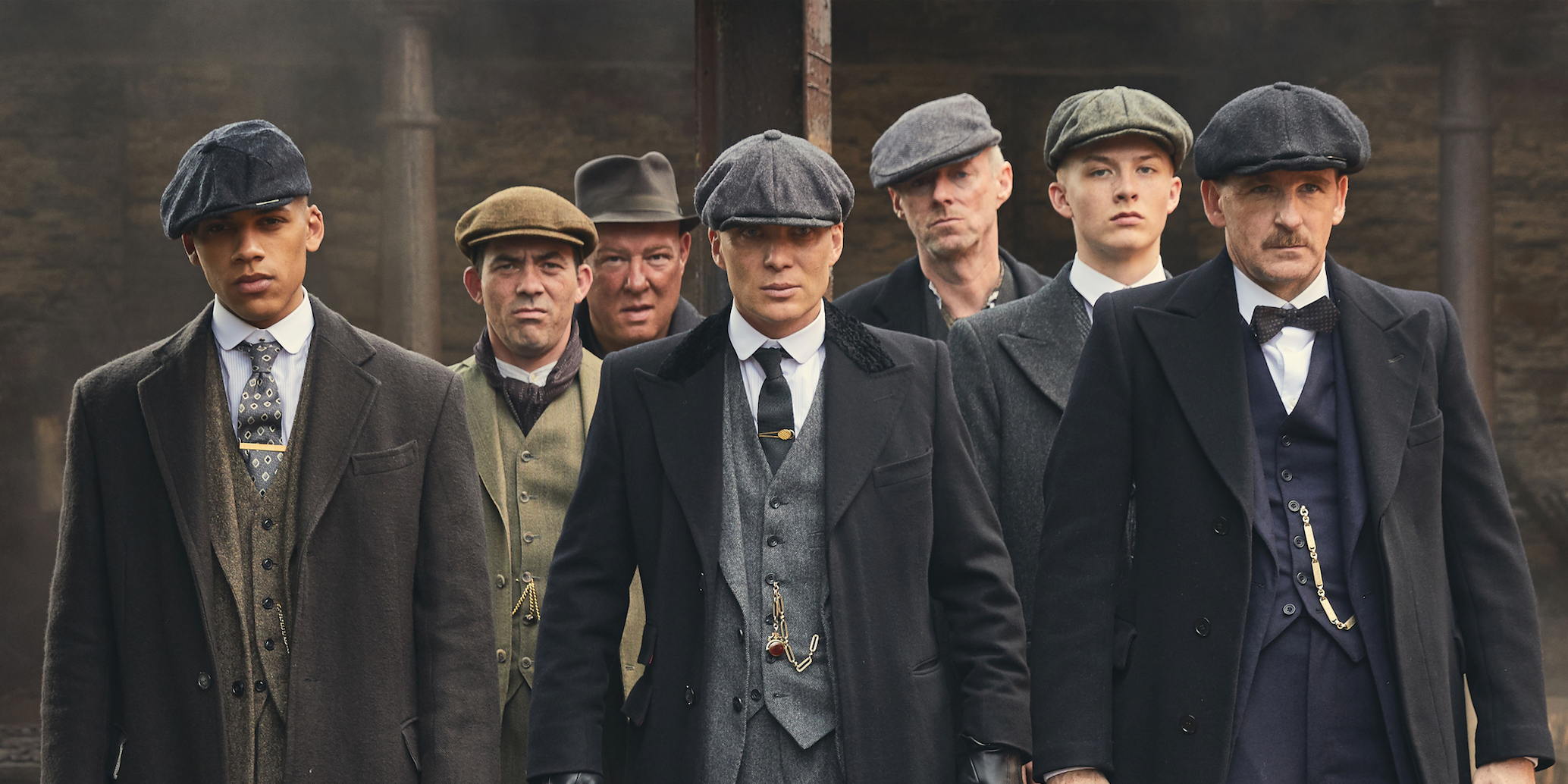 Peaky Blinders, s4, e4: The Peaky Blinders gang