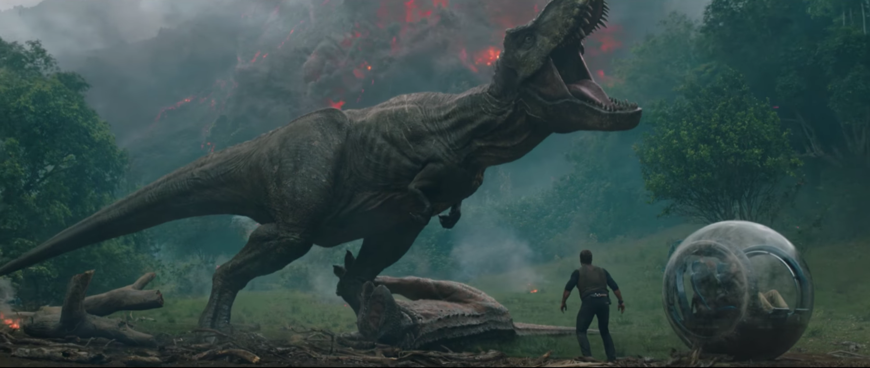 Jurassic World 2 unveils opening sequence