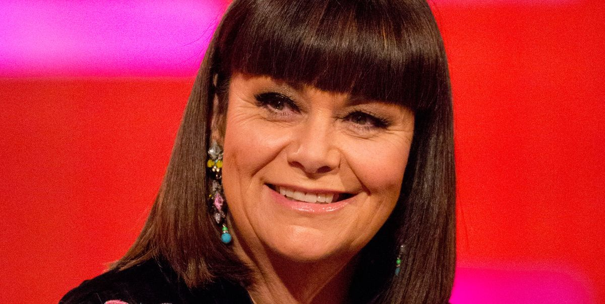Dawn French cuts off signature bob for short grey hairstyle