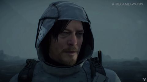 Norman Reedus in Death Stranding trailer